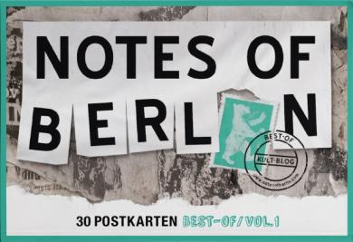 Notes of Berlin 30er Postkartenbox