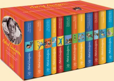 Astrid Lindgren: Astrid-Lindgren-Edition. Die schönsten Romane und Erzählungen für Kinder