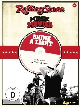 Mick Jagger, Keith Richards, Martin Scorsese, Charlie Watts: Shine a Light, 1 DVD, englisches O. m. U.