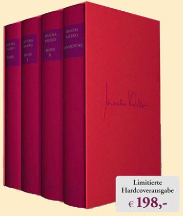 Sämtliche Werke Und Briefe In Vier Bänden