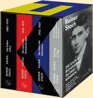 Reiner Stach: Die Kafka-Biographie in drei Bänden