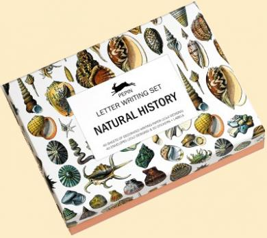 Letter Writing Box Natural History