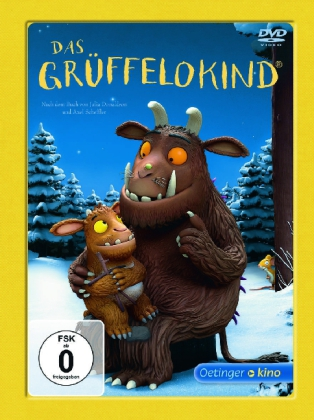 Scheffler, Axel, Julia Donaldson, Uwe Heidschötter, Johannes Weiland: Das Grüffelokind, 1 DVD