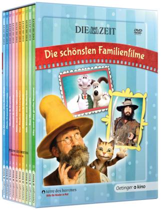 Astrid Lindgren, Timo Parvela, Nordqvist, Sven: ZEIT-Edition: Die schönsten Familienfilme, 10 DVDs