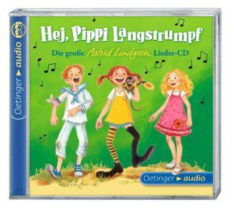 Dieter Faber, Engelking, Katrin, Astrid Lindgren, Frank Oberpichler: Hej, Pippi Langstrumpf!, 1 Audio-CD