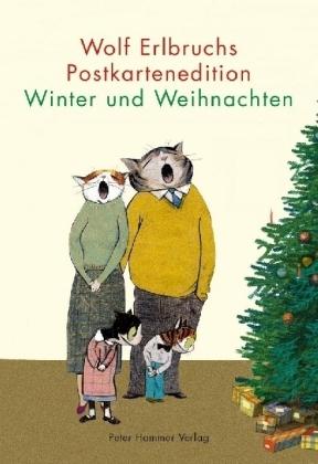 Erlbruch, Wolf: Wolf Erlbruchs Postkartenedition Winter und Weihnachten