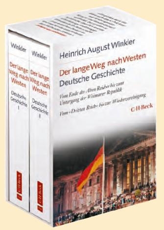 Heinrich August Winkler: Der lange Weg nach Westen - Deutsche Geschichte I und II