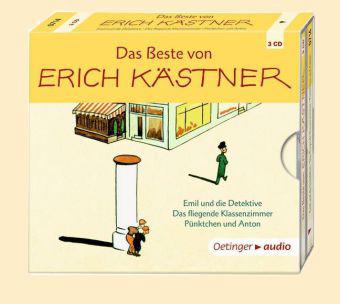 Erich Kästner: Das Beste von Erich Kästner (3 CD)
