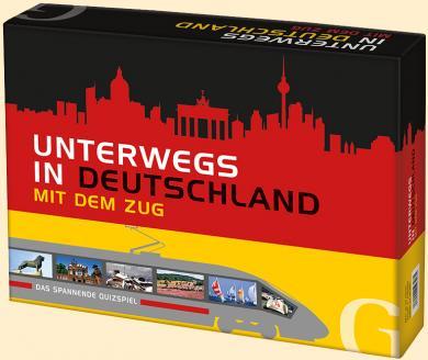 Unterwegs in Deutschland mit dem Zug (Spiel)