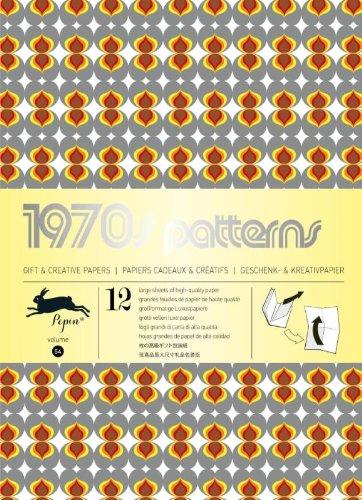 Pepin van Roojen: 1970s Pattern. Geschenkpapier