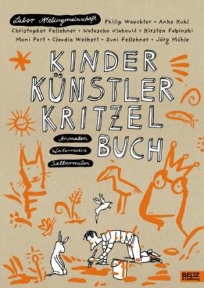 Labor Ateliergemeinschaft: Kinder Künstler Kritzelbuch