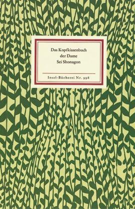 Sei Shonagon, Helmut Bode: Das Kopfkissenbuch der Dame Sei Shonagon