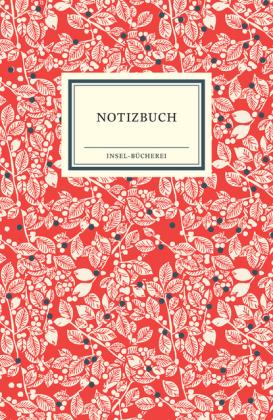 Insel Verlag: Insel Bücherei Notizbuch