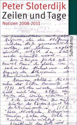 Peter Sloterdijk: Zeilen und Tage