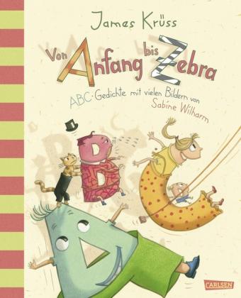 Krüss, James, Wilharm, Sabine: Von Anfang bis Zebra - ABC Gedichte mit vielen Bildern von Sabine Wilharm