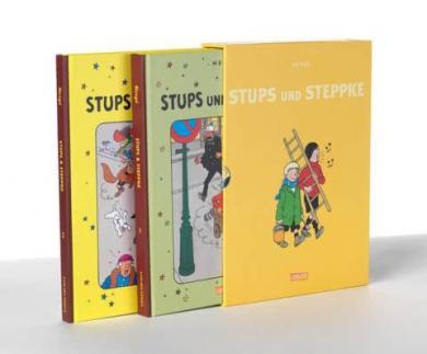 Hergé: Stups und Steppke, Band 1 und 2 im Schuber