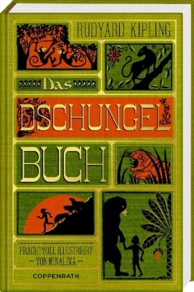 Rudyard Kipling, MinaLima Design: Das Dschungelbuch