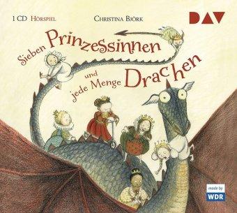 Christina Björk, Eva Eriksson: Sieben Prinzessinnen und jede Menge Drachen