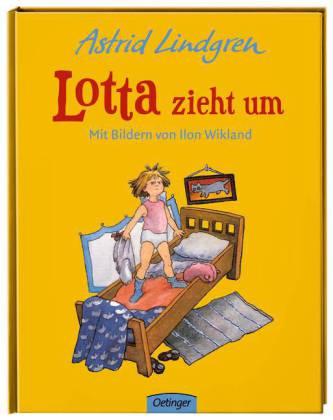 Astrid Lindgren, Ilon Wikland: Lotta zieht um