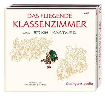 Erich Kästner, Trier, Walter: Das fliegende Klassenzimmer (4 CD)
