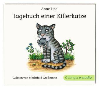 Anne Fine, Scheffler, Axel: Tagebuch einer Killerkatze (CD)
