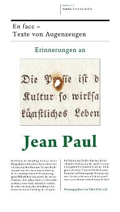 Erinnerungen an Jean Paul