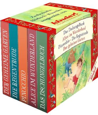 Frances H. Burnett, Lewis Carroll, Carlo Collodi, Rudyard Kipling, Theodor Storm: kinder Hörbuch-Klassiker-Box 2