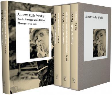 Annette Kolb: Werke