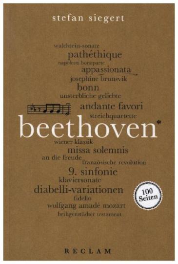 Stefan Siegert: Beethoven. 100 Seiten