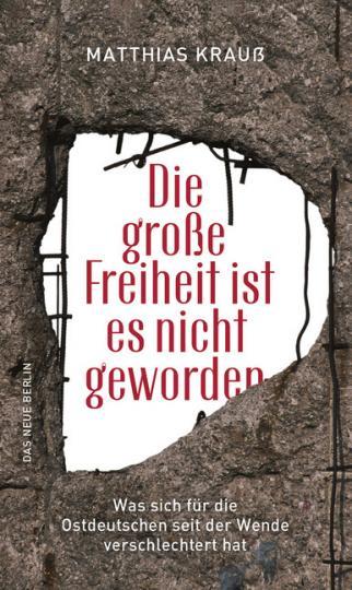 Matthias Krauß: Die große Freiheit ist es nicht geworden
