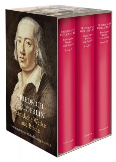 Friedrich Hölderlin: Sämtliche Werke und Briefe, 3 Bde.