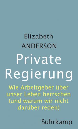 Elizabeth Anderson: Private Regierung