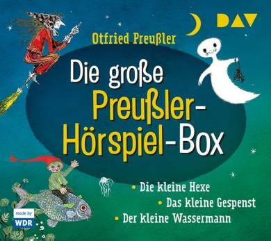 Otfried Preußler, Gebhardt-Gayler, Winnie; Tripp, F. J.: Die große Preußler-Hörspiel-Box, 6 Audio-CDs
