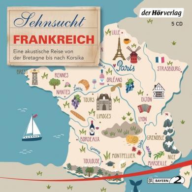 Sehnsucht Frankreich, 5 Audio-CDs