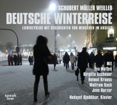 Stefan Weiller: Deutsche Winterreise, 1 Audio-CD
