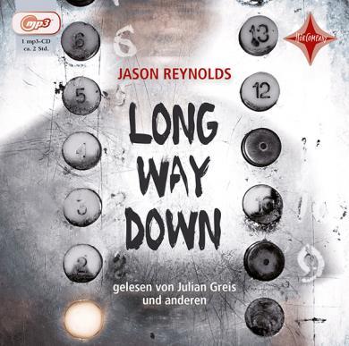 Jason Reynolds: Long Way Down, 1 MP3-CD