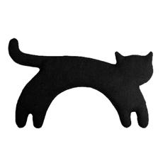 Katze Minina. Wärmekissen für den Nacken