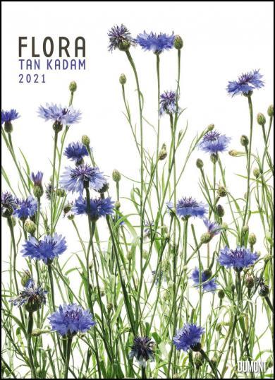 Tan Kadam: Flora 2021 - Blumen-Kalender von DUMONT- Foto-Kunst - Poster-Format 49,5 x 68,5 cm