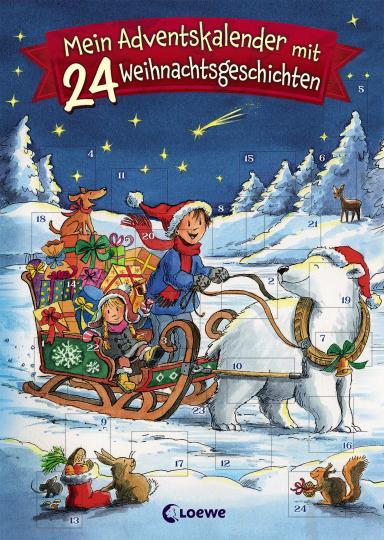 Mein Adventskalender mit 24 Weihnachtsgeschichten