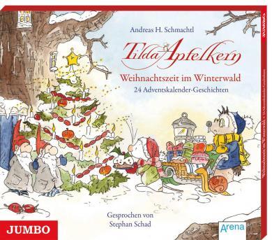 Stephan Schad, Andreas H. Schmachtl: Tilda Apfelkern. Weihnachtszeit im Winterwald