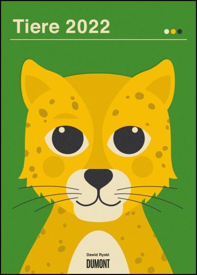 Dawid Ryski: Dawid Ryski: Tiere 2022 – Kinder-Kalender – Poster-Format 50 x 70 cm
