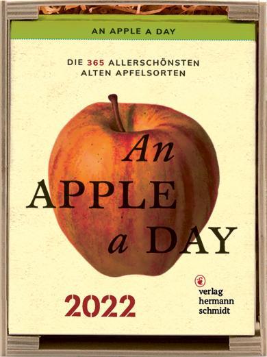 Jochen Rädeker: An Apple a Day Kalender 2022