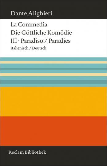 Dante Alighieri: La Commedia / Die Göttliche Komödie