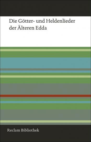 Arnulf Krause: Die Götter- und Heldenlieder der Älteren Edda