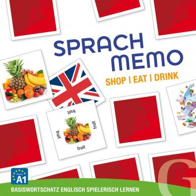Grubbe Media: Sprachmemo Englisch: Shop / Eat / Drink