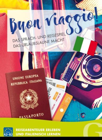 Buon Viaggio! Das Sprach- und Reisespiel, das Urlaubslaune macht