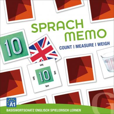 Grubbe Media: Sprachmemo Englisch: Count / Measure / Weigh