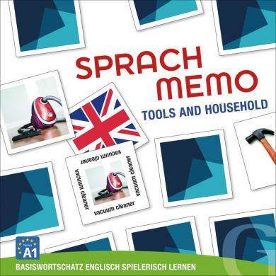 Grubbe Media: Sprachmemo Englisch: Tools and Household