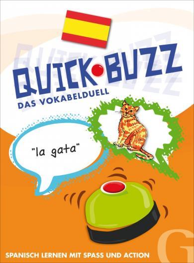 Grubbe Media: QUICK BUZZ – Das Vokabelduell - Spanisch