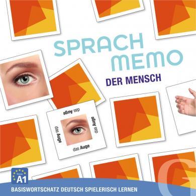 Grubbe Media: Sprachmemo Deutsch: Der Mensch